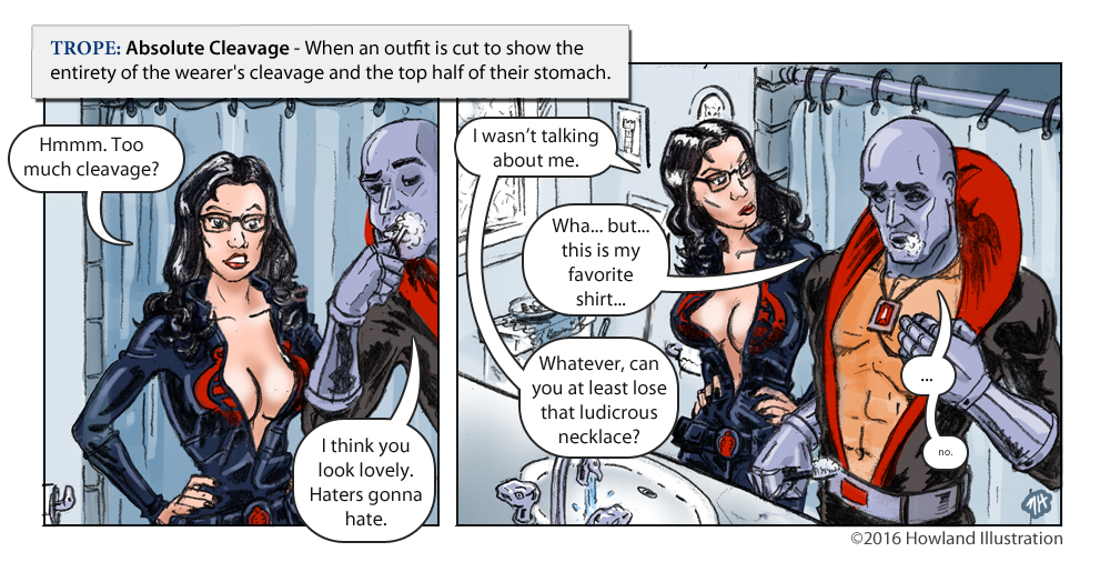 howland illustration comics tv tropes
